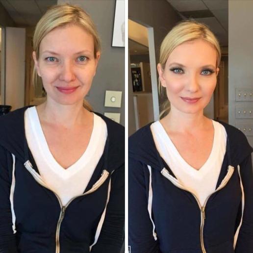 Make-up by Cheryl Harvey Gorey.